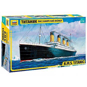 Сборная модель ZVEZDA. Пассажирский лайнер Титаник