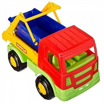 Автомобиль коммунальная спецмашина Салют 21х11х14 см