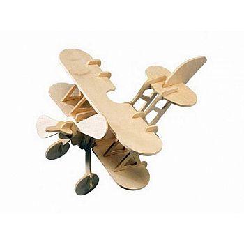 Сборная деревянная модель Чудо-Дерево Аэроплан
