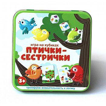 Настольная игра Десятое королевство Птички-сестрички игра на кубиках