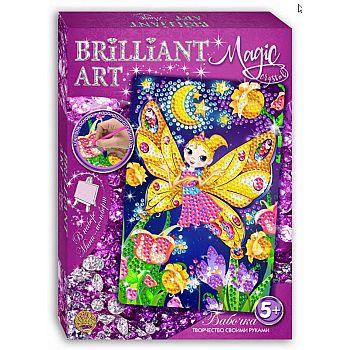 Мозаика со стразами Magic Crystal Бабочка.