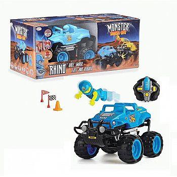 """Машинка р/у разбивающийся внедорожник """"Monster Smash Ups"""", Rhino"""