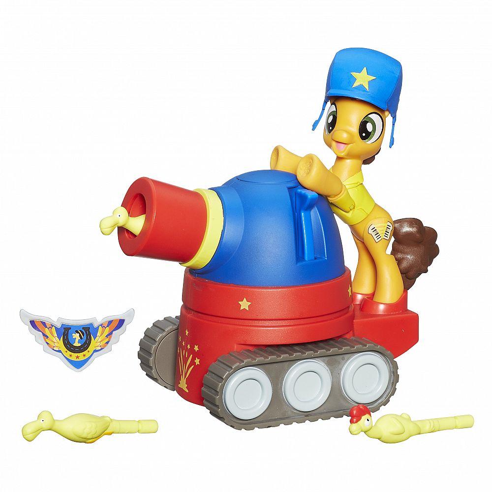 Игровой набор Hasbro My Little Pony Хранители Гармонии Чиз сэндвич на праздничном танке