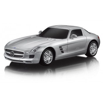 Машина р/у 1:24 Mercedes SLS AMG, 19см, цвет серебряный 40MHZ