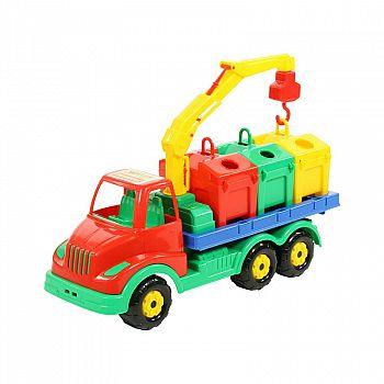 Автомобиль контейнеровоз Муромец 44 см