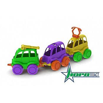 Машинки в наборе Нордик 9*17*14 см.