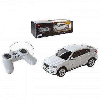 Машина р/у 1:24 BMW X6, 28.5х14х12см, цвет белый 40MHZ