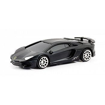 Машинка металлическая Uni-Fortune RMZ City 1:64 Lamborghini Aventador LP 750-4 Superveloce (цвет черный матовый)