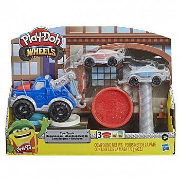 Набор для творчества Hasbro Play-Doh Wheels для лепки Эвакуатор