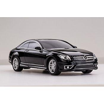 Машина р/у 1:24 Mercedes CL63 AMG, 28,5х14х12см, цвет чёрный 27MHZ