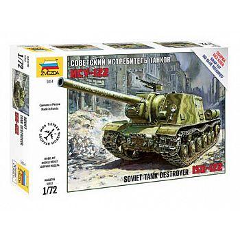 Сборная модель ZVEZDA Советский истребитель танков ИСУ-122