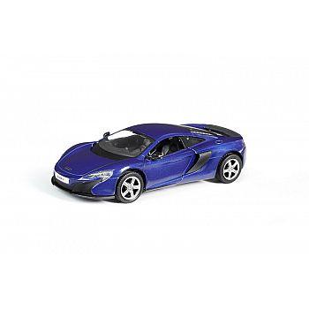 Машинка металлическая Uni-Fortune RMZ City 1:32 McLaren 650S, инерционная, цвет синий