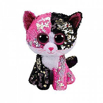 Мягкая игрушка Лапландия Котёнок с пайетками 12см