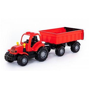 Трактор с прицепом №1 Крепыш