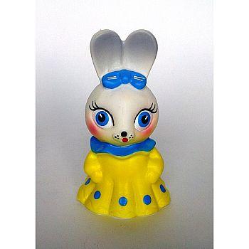 Зайчишка 11 см, игрушка ПВХ