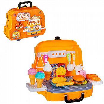 Игровой набор ABtoys Чудо-чемоданчик Пикник, 26 предметов