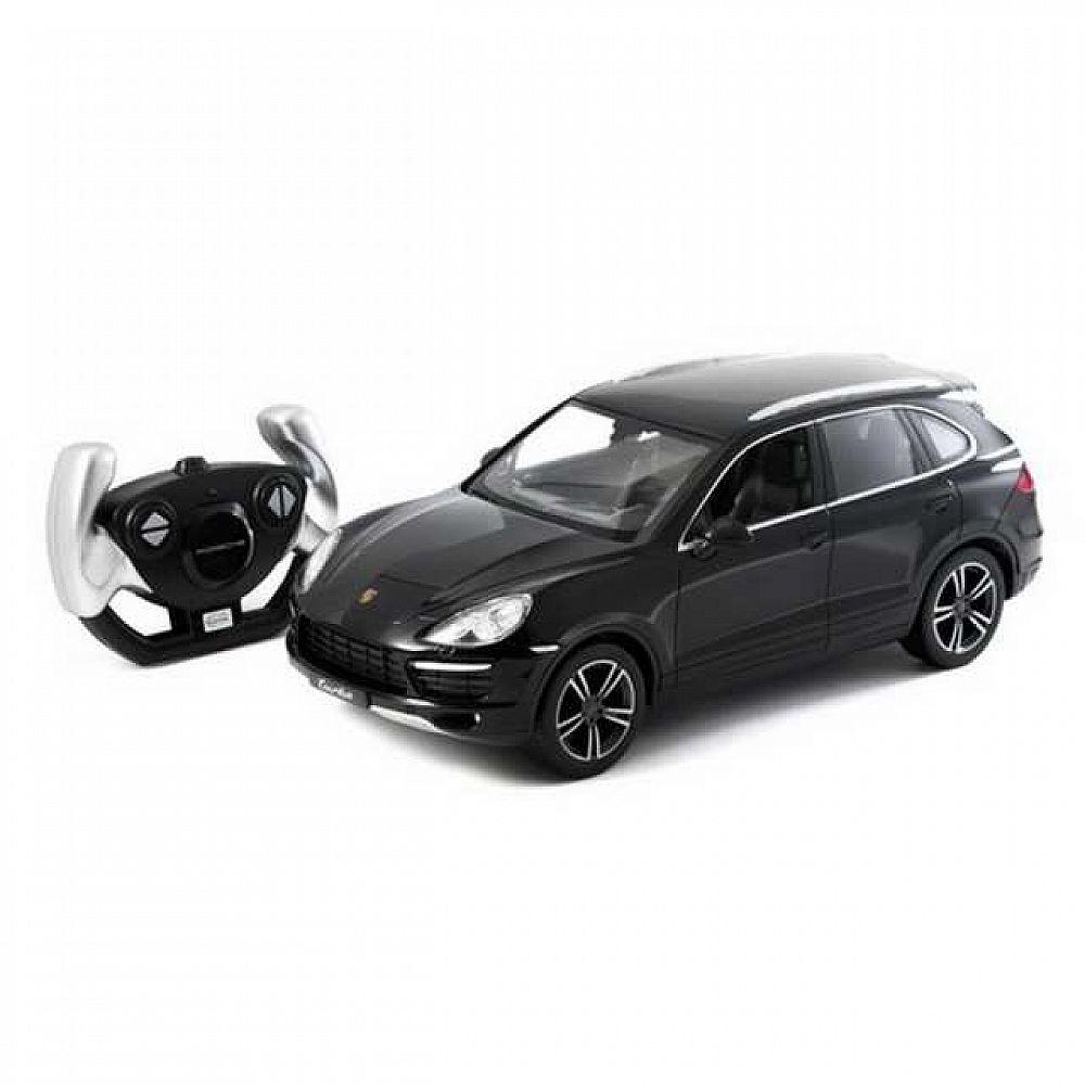 Машина р/у 1:14 Porsche Cayenne Turbo Цвет Черный 2.4G
