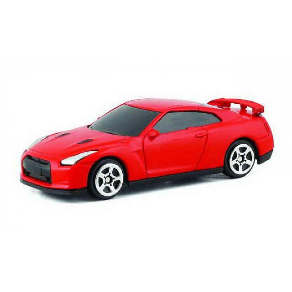Машина металлическая Nissan GTR (R35), красный матовый цвет