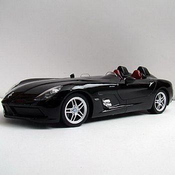 Машина р/у 1:12 Mercedes-Benz SLR, 50х22х20.5см, цвет чёрный 27MHZ