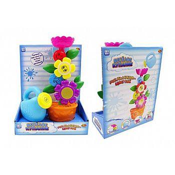 Веселое купание. Цветок-мельница для ванны с лейкой