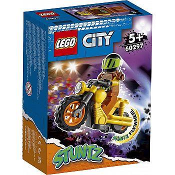 Конструктор LEGO CITY Stunt Разрушительный трюковый мотоцикл