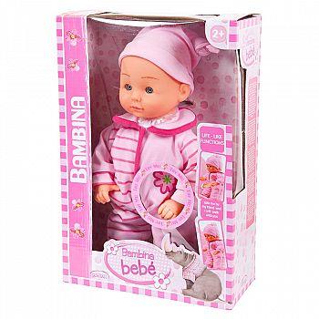 Кукла DIMIAN Bambina Bebe Пупс Первые шаги 33 см