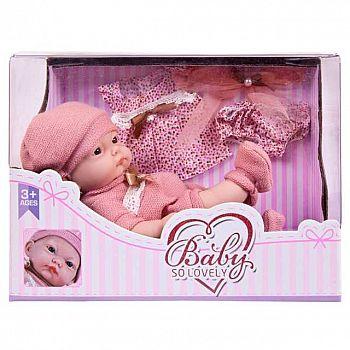 """Пупс """"Baby So Lovely"""", 25см (10''), с аксессуарами, в коробке"""