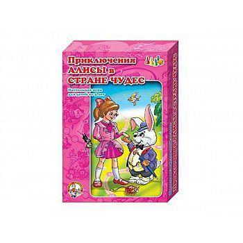 Настольная игра Десятое королевство Ходилка. Приключения Алисы в стране чудес
