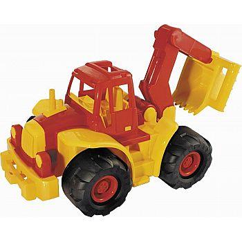 Трактор Богатырь мини с ковшом 35х22х26 см.