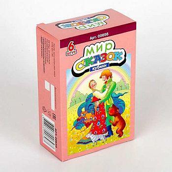 Кубики Мир сказок-3 6 шт