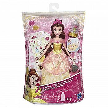 Кукла Hasbro Disney Princess Сверкающая Белль с аксессуарами