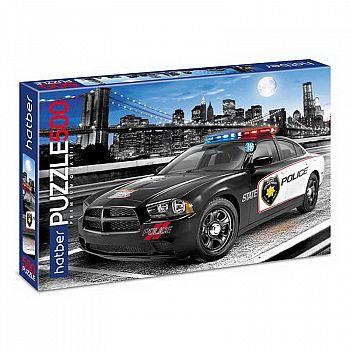 Пазл Hatber Premium 500 элементов А2ф 460х340мм Городская полиция