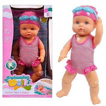 Пупс-кукла, плавающая в воде