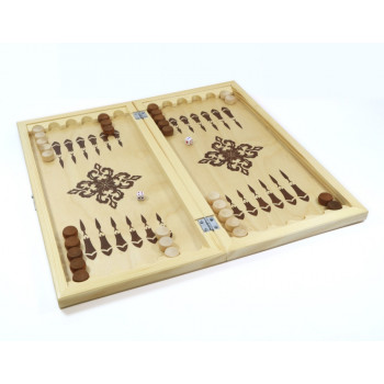 Настольная игра Десятое королевство Нарды деревянные, поле 40см х40см