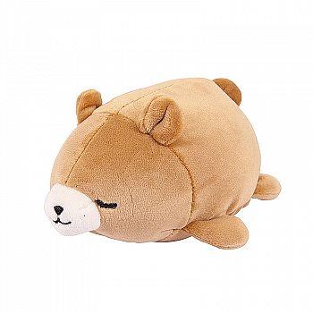 Super soft. Медвежонок коричневый, 27 см игрушка мягкая
