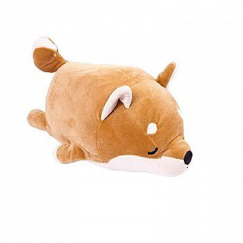 Мягкая игрушка ABtoys. Собачка Корги коричневая, 13 см
