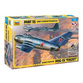 Сборная модель ZVEZDA Советский истребитель МиГ-15