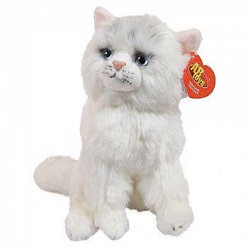 Мягкая игрушка ABtoys Домашние любимцы Кошечка белая 24см, игрушка мягкая