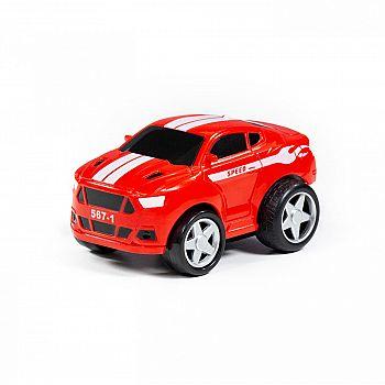 Автомобиль Крутой Вираж гоночный №1 инерционный (в коробке)