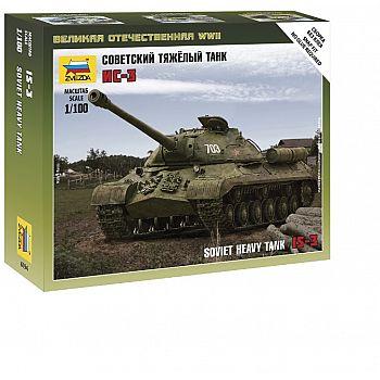 Сборная модель ZVEZDA Советский тяжёлый танк ИС-3