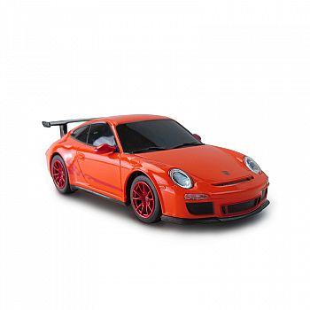 Машина р/у 1:24 Porsche GT3 RS, 18см, цвет оранжевый 40MHZ