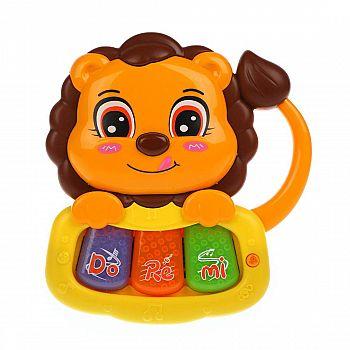 Музыкальная игрушка Жирафики Львенок звук, свет