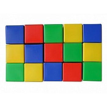 Набор кубиков, 15 штук