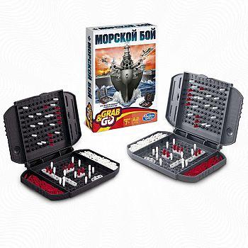 Настольная игра Hasbro Gaming Морской бой, дорожная