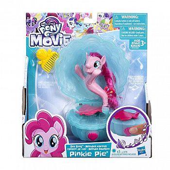 Игровой набор Hasbro My Little Pony Movie Мерцание мини Pinkie Pie с аксессуарами