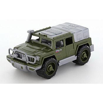 Автомобиль военный джип Защитник №1