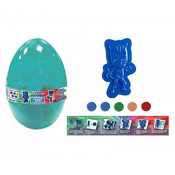Набор для лепки в яйце Герои в масках. Отважный Кэтбой
