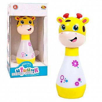 """Ночник для малышей """"Жирафик"""", со световыми и звуковыми эффектами, в коробке"""