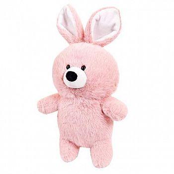 Флэтси. Кролик розовый, 24 см. игрушка мягкая