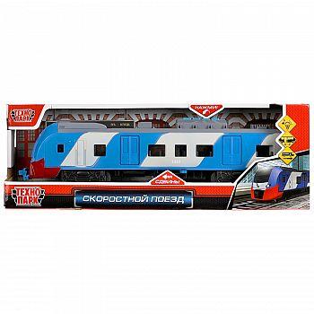 Машинка Технопарк Скоростной поезд свет и звук 32,5 см